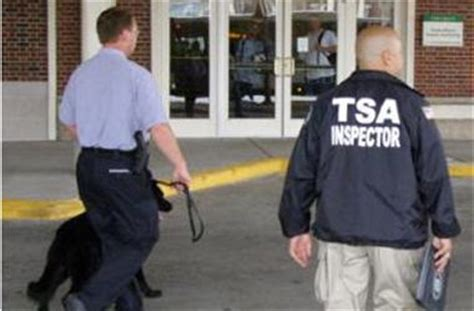 a day in the of transportation security inspectors