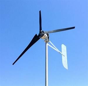 Ultra Low Wind Turbine Generator 1000 Watt 3 Black Blade