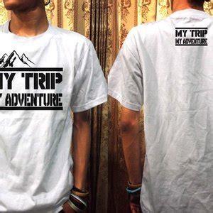 Kaos Mytrip Mtma Putih jual kaos my trip my adventure ot design mtma 4 putih