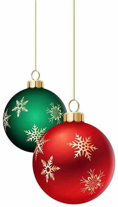 Transparent Christmas Balls Ornaments Clip Hanging Clipart