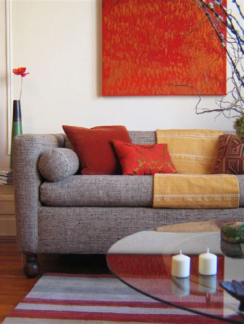 cool red  grey home decor ideas digsdigs