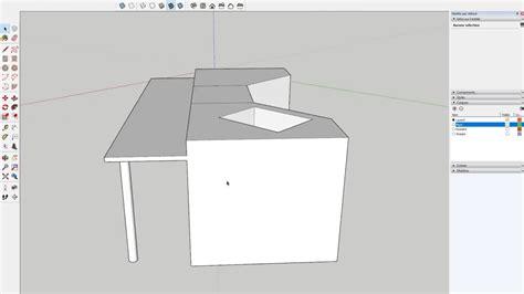 realiser sa cuisine tuto réaliser sa cuisine dans sketchup formation aménagement d 39 intérieur