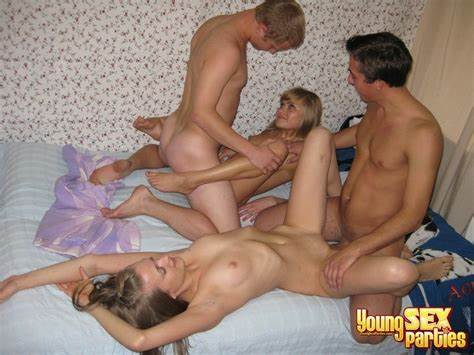 Italian Youthful College Fucking Family Shares A Bed