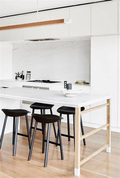 table de cuisine moderne architecture de cuisine moderne 5 cuisine avec plan de