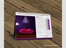 Desk calendar KB10W5 Template Calendar Template