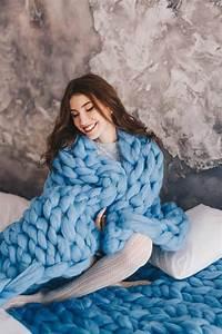 Chunky Wolle Decke : gro e merino wolle decke chunky stricken decke warme ~ Watch28wear.com Haus und Dekorationen