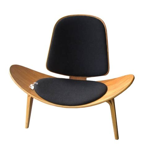 vintage midcentury hans wegner skalstol shell chair for
