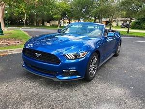 2017 Used Ford Mustang EcoBoost Premium Convertible at A Luxury Autos Serving Miramar, FL, IID ...