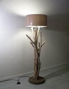 Lampe Chevet Bois Flotté : lampe eco design ~ Teatrodelosmanantiales.com Idées de Décoration