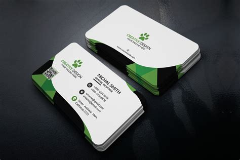 corporate business card template creativetacos