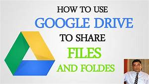 how to use google drive to share files and folders youtube With google drive to share documents
