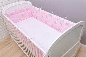 Baby Nestchen Rosa : bettumrandung nestchen 420x30 cm h schen rosa bettnestchen ~ Watch28wear.com Haus und Dekorationen