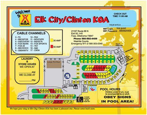 Foss, Oklahoma Campground  Elk City  Clinton Koa