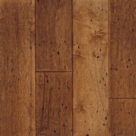 hardwood flooring at home depot bruce cliffton grand canyon maple 3 8 in thick x 5 in wide x random length engineered hardwood
