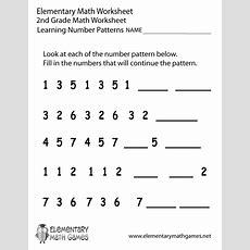 2ndgradenumberpatternsworksheetprintablepng  Lesson Planning  Pinterest Math