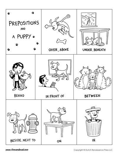 preschool prepositions in front preposition worksheet preschool in best free 900
