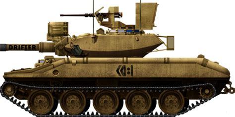 mm gun launcher araav  sheridan