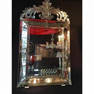 Miroir Vénitien Ancien : miroir ancien sur proantic ~ Preciouscoupons.com Idées de Décoration