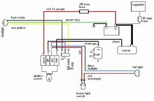 Lucas Headlight Wiring Diagram