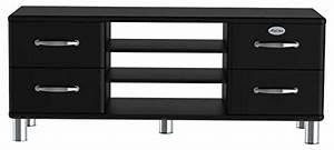 Tv Bank Schwarz : tenzo 5158 033 malibu designer tv bank holz schwarz 44 x 134 x 54 cm m bel24 ~ Markanthonyermac.com Haus und Dekorationen
