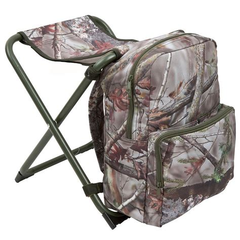 backpack chair camo decathlon