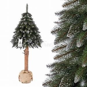 Künstlicher Weihnachtsbaum Weiß : k nstlicher weihnachtsbaum im topf fichte naturstamm wei beschneit jumbo shop ~ Whattoseeinmadrid.com Haus und Dekorationen
