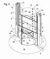 Elevator Circular Dimensions Coloring sketch template