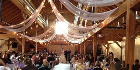 big red barn  highland meadows weddings  prices