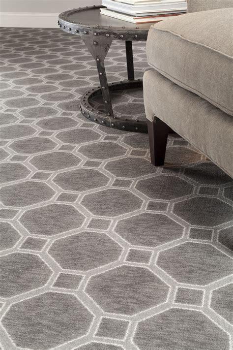 geometric carpet living room contemporary  nylon