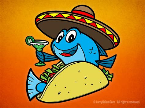 Fish Taco Character Design On Behance