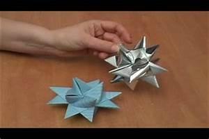 Stern Basteln Anleitung Papier : video anleitung sterne basteln ~ Lizthompson.info Haus und Dekorationen
