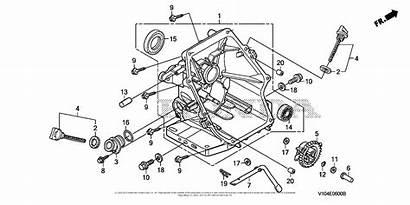Honda Hs520 Diagram Snow Blower Parts Crankcase