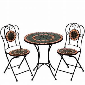 Mosaik Gartenmöbel Set : mosaik garnitur sitzgruppe gartenm bel tisch gartentisch ~ Watch28wear.com Haus und Dekorationen
