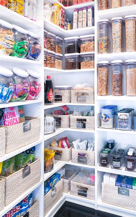 khloe kardashian shows   newly organized pantry