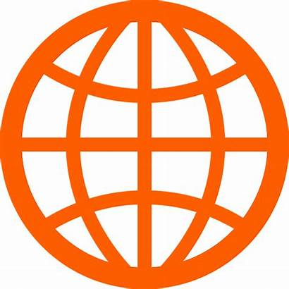 Internet Web Icon Symbol Wide Clipart Global