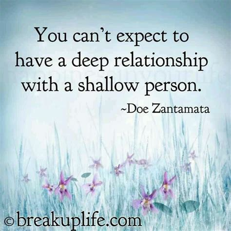Shallow People Quotes Quotesgram