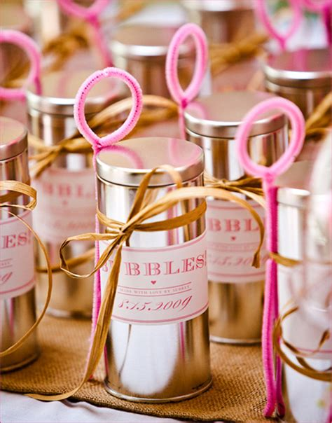 amazing diy wedding favors belle  magazine