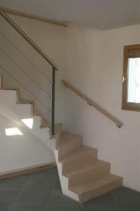 Habillage Escalier Interieur : habillage escalier b ton sans nez de 533 800 ~ Premium-room.com Idées de Décoration
