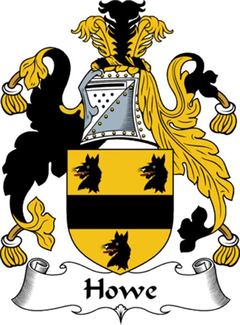 Englishgathering  The Howe Coat Of Arms (family Crest