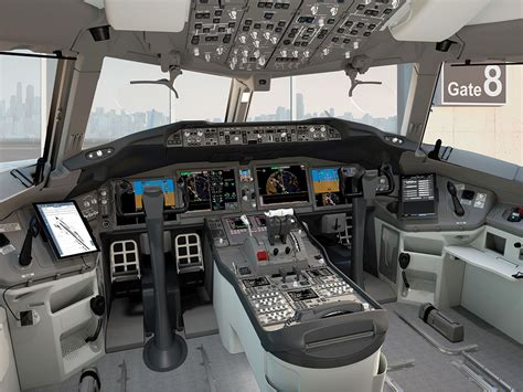 777X Flight Deck And Wing Fold Controls Unveiled | New ...