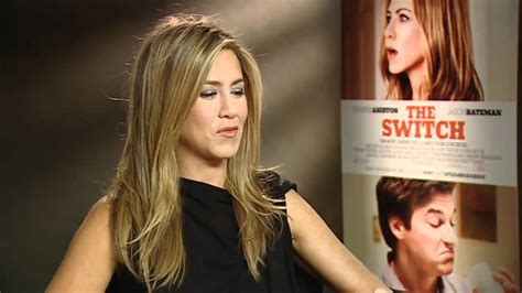 Jennifer Aniston Chats About New Movie The Switch Youtube