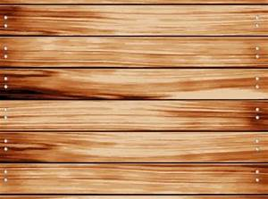 Wooden fence with horizontal dobble screwed boards Vector ...