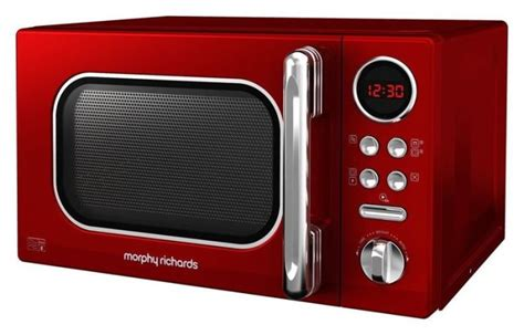 morphy richards microwave  red  sale  dublin