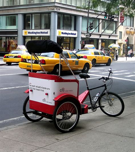 Rickshaws In The United States