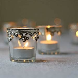 Set, Of, Two, Silver, And, Glass, Tea, Light, Holders, By, The, Wedding, Of, My, Dreams