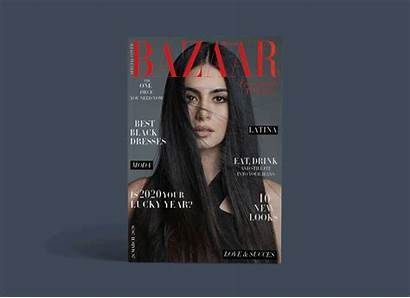 Magazine Bazaar Augustman Behance