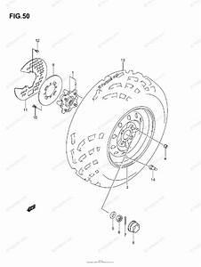 Suzuki Atv 2007 Oem Parts Diagram For Front Wheel