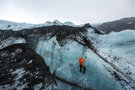 Glacier Hike And Ice Climbing Arctic Adventures