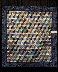 tumbling blocks quilt Quilt Inspiration: Quilts of illusion: tumbling blocks