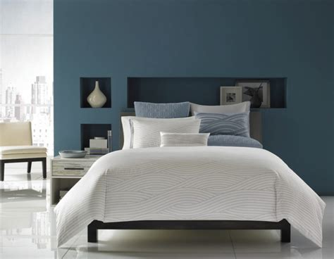 schlafzimmer dunkelblau gray blue bedroom beautiful homes design